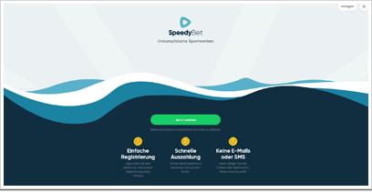 SpeedyBet Webseite
