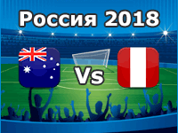 Australien - Peru, WM 2018