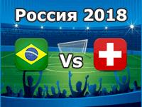Brasilien - Schweiz, WM 2018