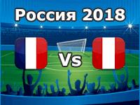 Frankreich - Peru, WM 2018