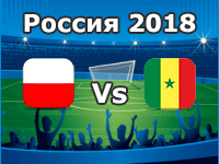 Polen - Senegal, WM 2018