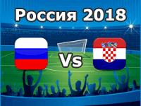Russland - Kroatien, WM 2018