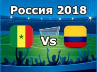 Senegal - Kolumbien, WM 2018