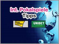 Internationale Pokalspiele Tipps