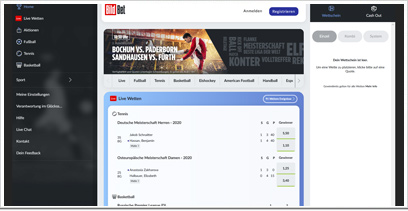 BildBet Webseite