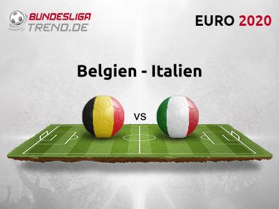 EM 2021 Belgien gegen Italien Tipp