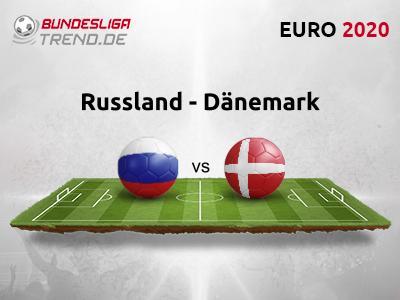 EM 2021 Russland gegen Dänemark Tipp