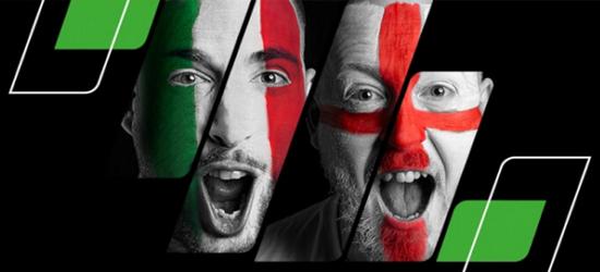 Unibet Italien - England Wetten Angebot
